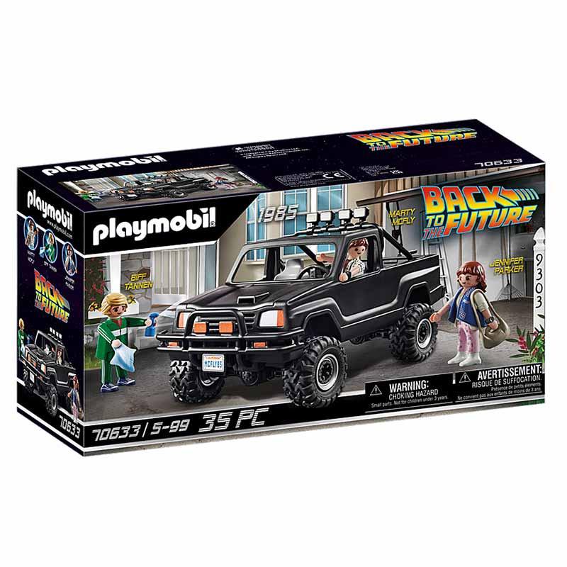 Playmobil Regreso al futuro camioneta de Marty