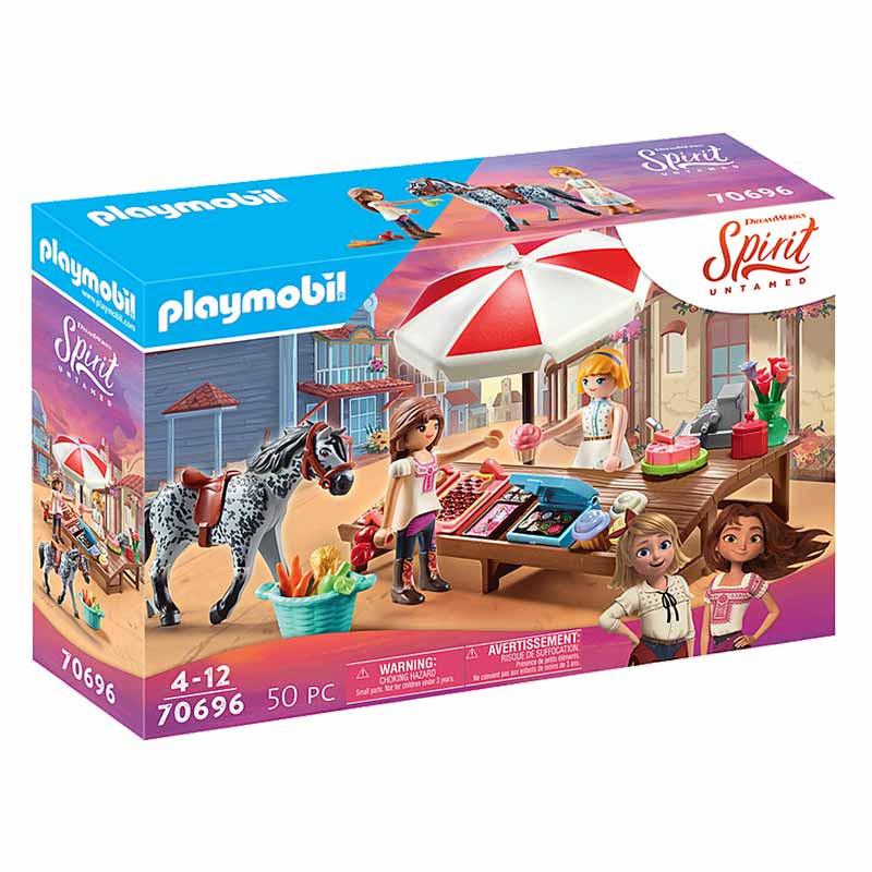 Playmobil Spirit Miradero tienda de dulces