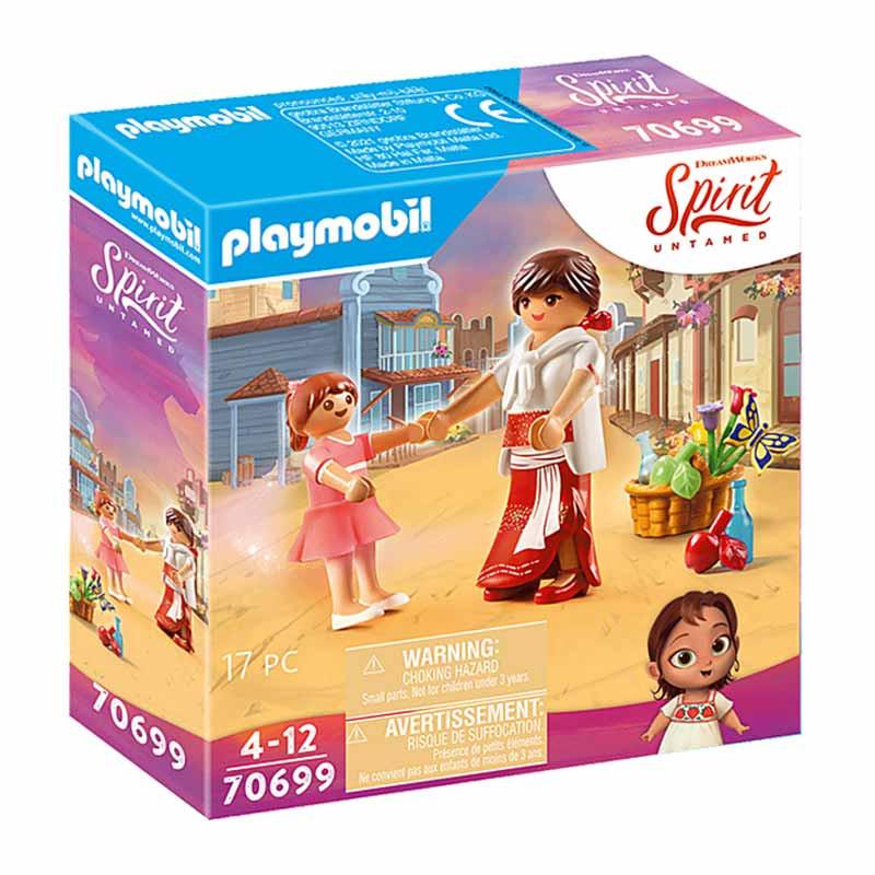 Playmobil Spirit joven Fortu & Milagros