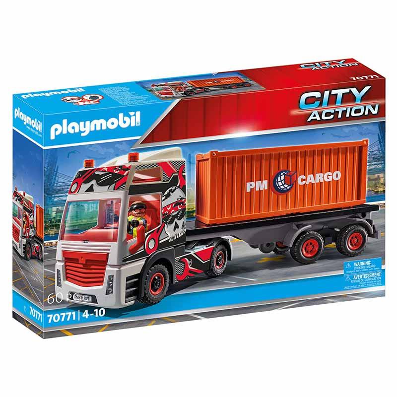 Camión con Remolque