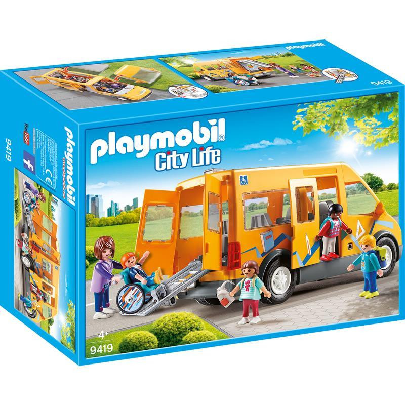 Playmobil Life autobús escolar