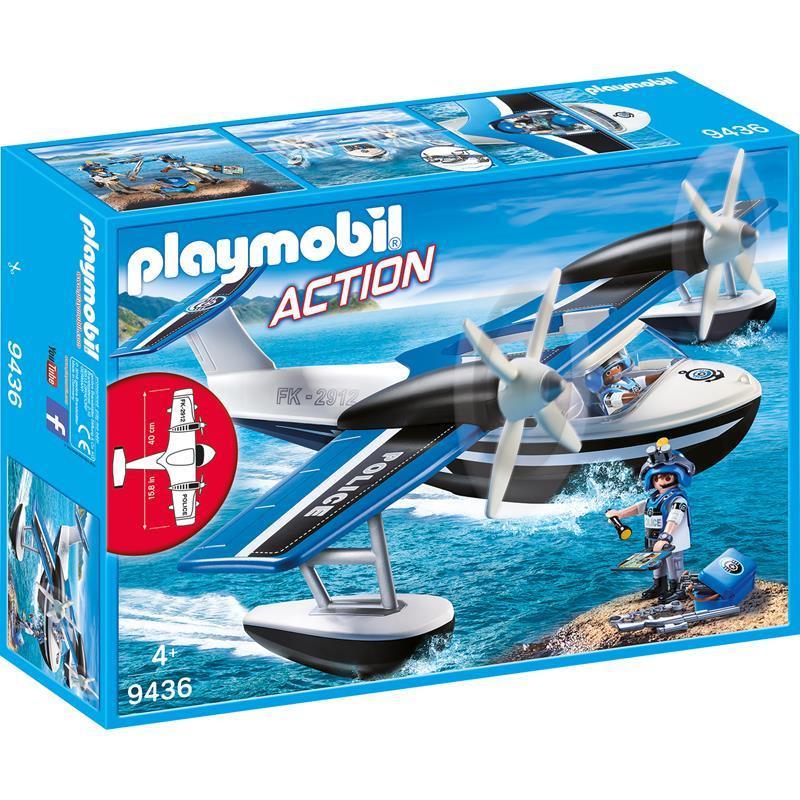 Playmobil City Action hidroavión de policía