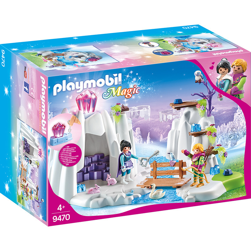 Playmobil Magic búsqueda del diamante de cristal