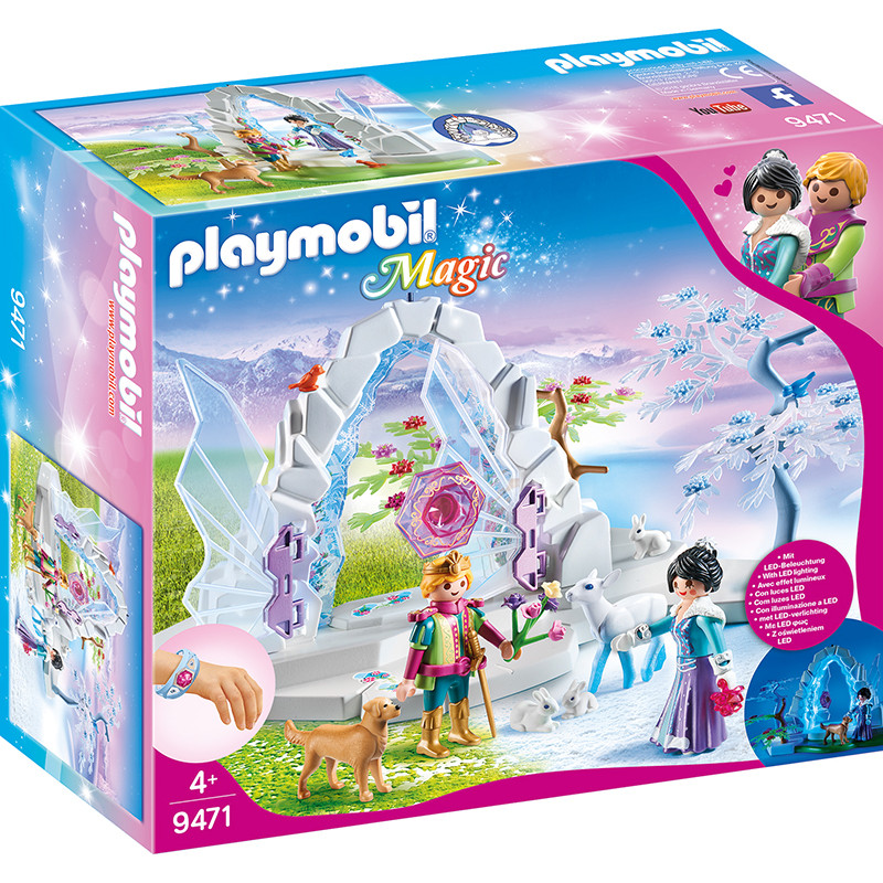 Playmobil Magic portal del cristal mundo invierno