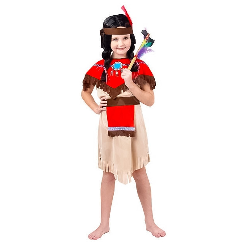 Disfraz Niña indio infantil