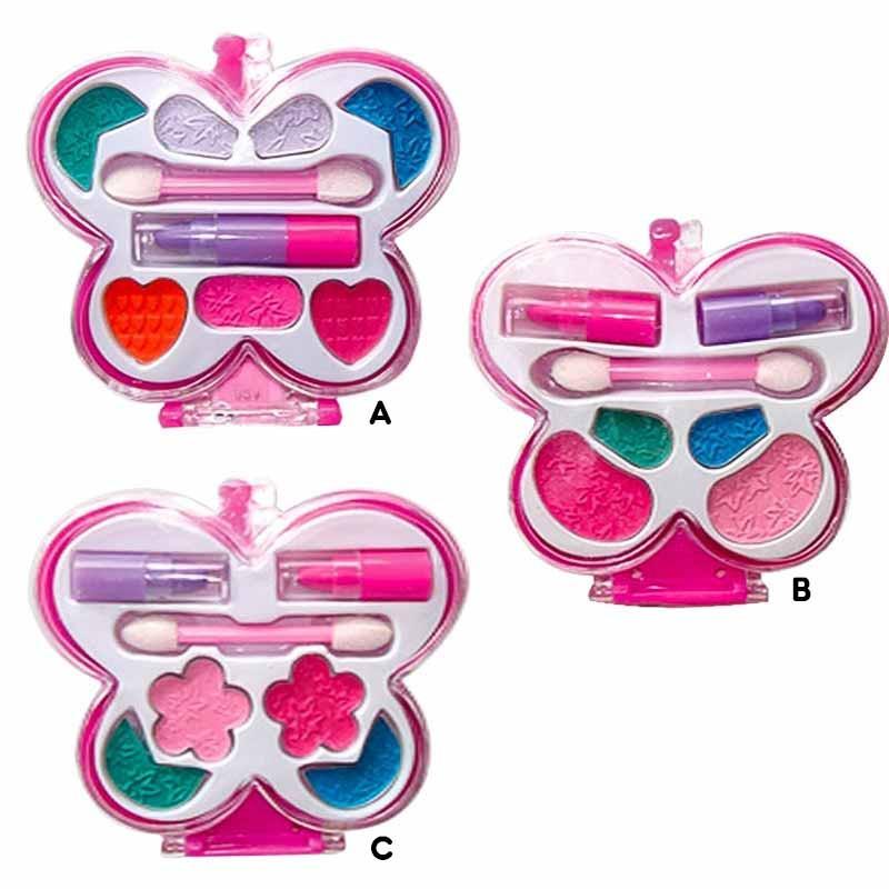 Maquillaje infantil estuche mariposa