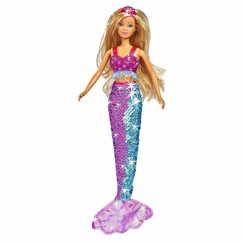 Steffi Love sirena cola de lentejuelas