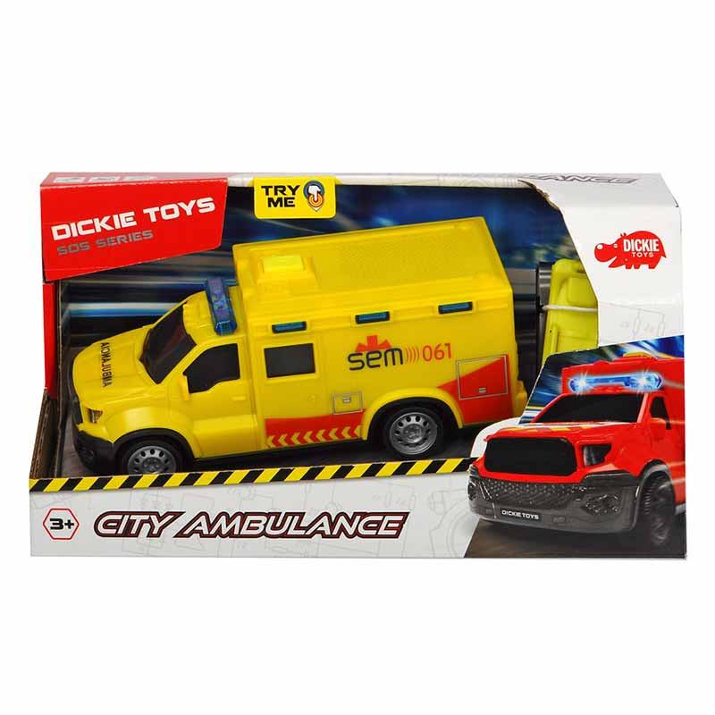 SOS ambulancia emergencias medicas 18 cm