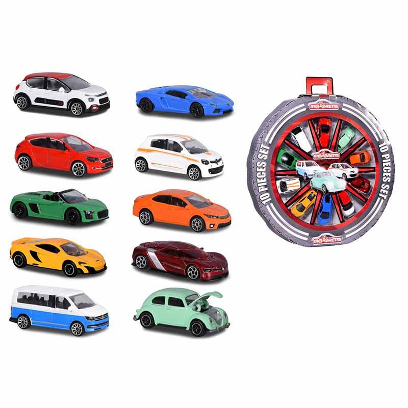 Majorette- rueda 10 coches promo