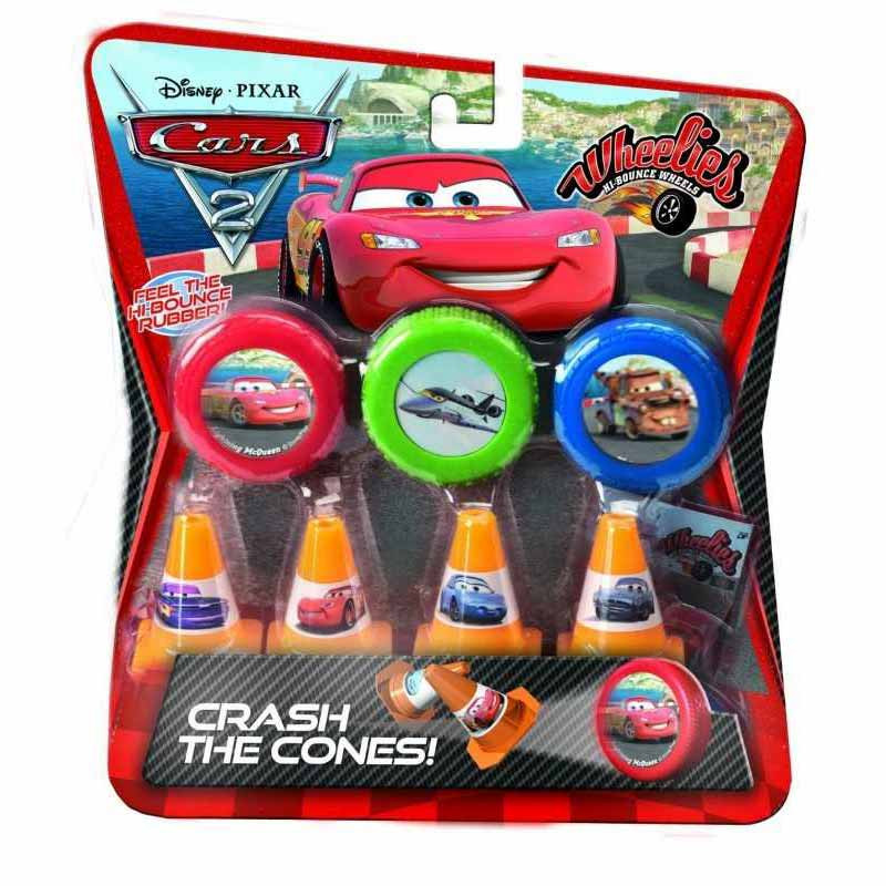 Set 3 Ruedas Cars 2