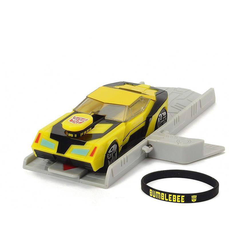 Transformers Bumblebee con lanzador 11 cm