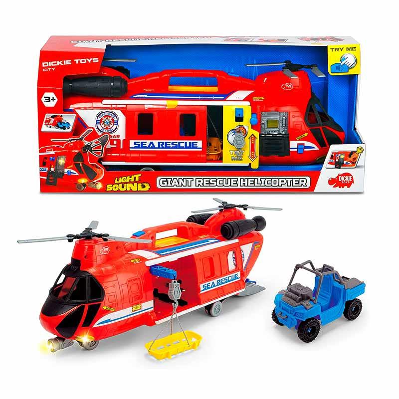 Helicoptero Gigante de rescate 60 cm