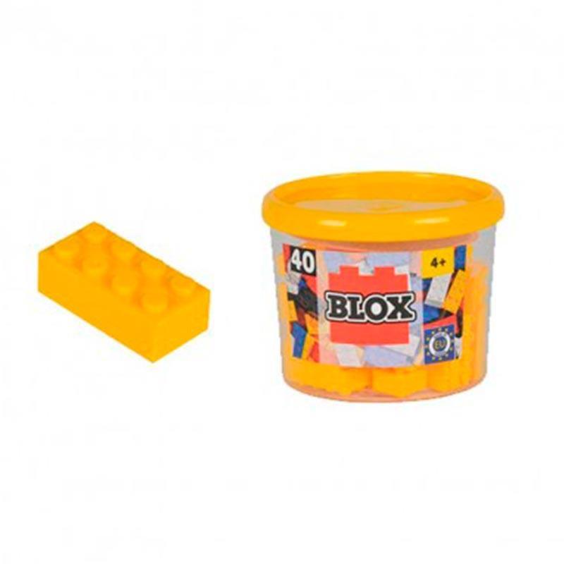 Bote Blox con 40 bloques amarillos*