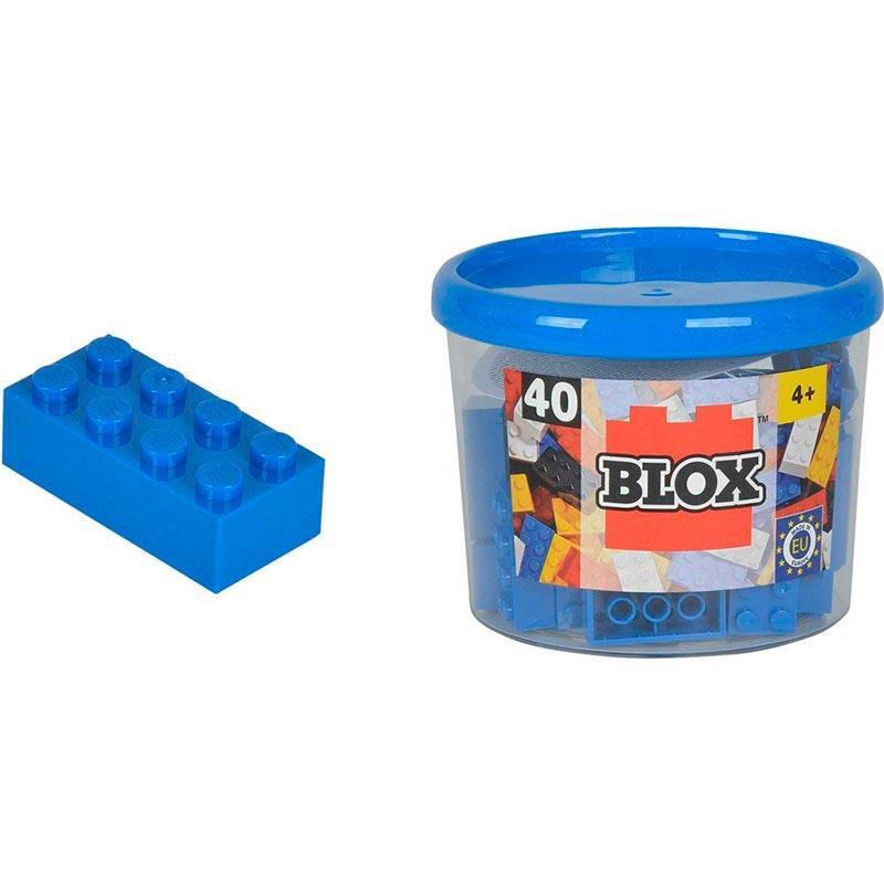 Bloques de construción Blox azules