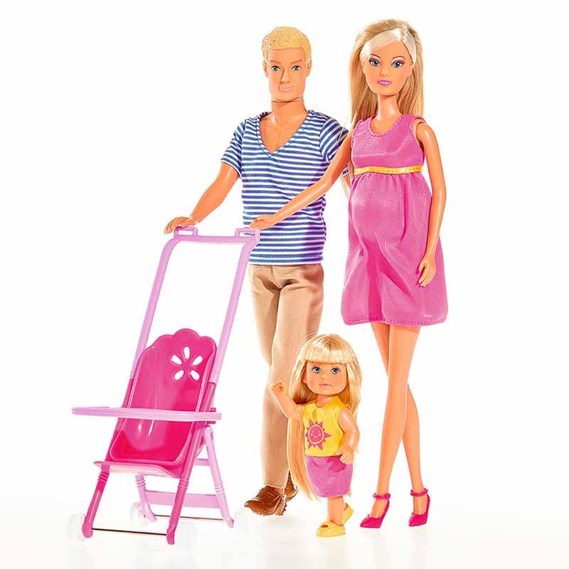 Steffi Love familia feliz