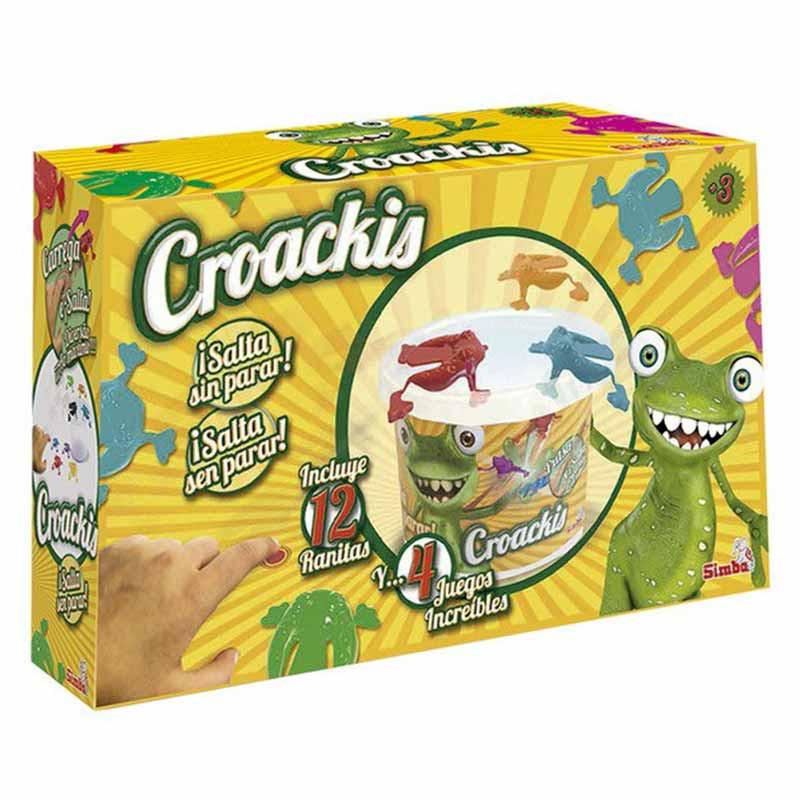 Simba Caja Croackis con 12 Ranas