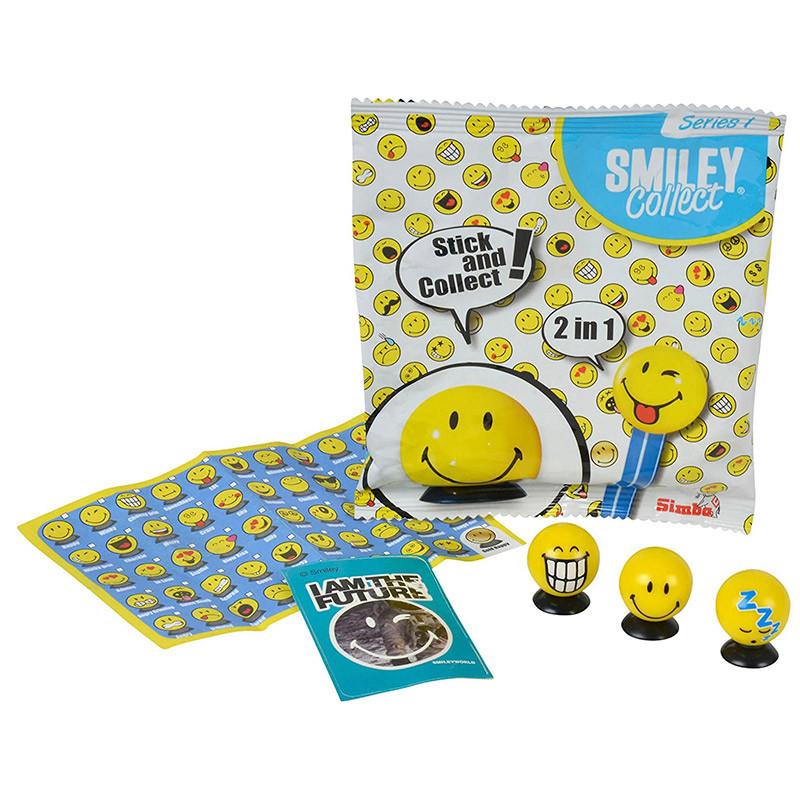 Smiley sobres con 3 uds coleccionables