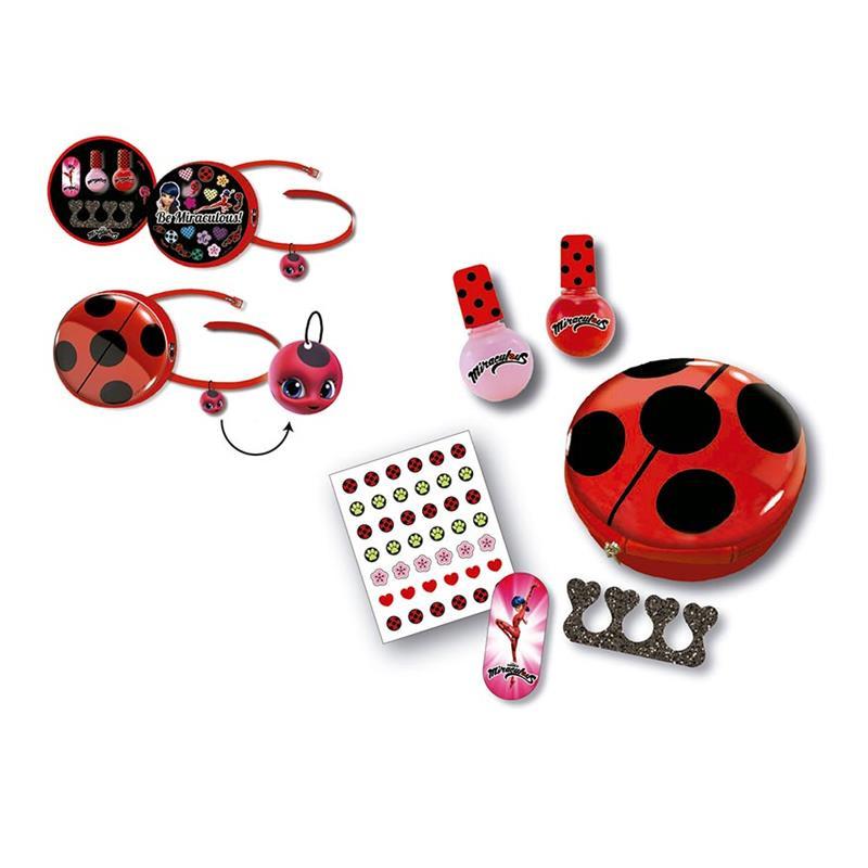 Bolsa de belleza y manicura Ladybug*