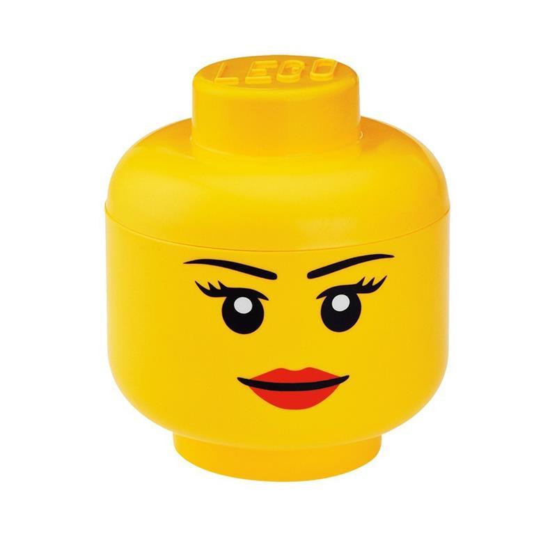 Cajita de almacenamiento LEGO niña