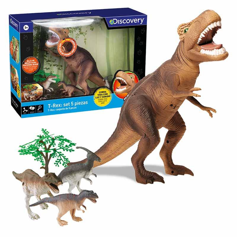 Dinosaurio T-Rex Discovery 5 peças