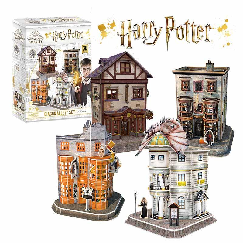 Puzzle 3D Set del Callejón Diagón de Harry Potter™