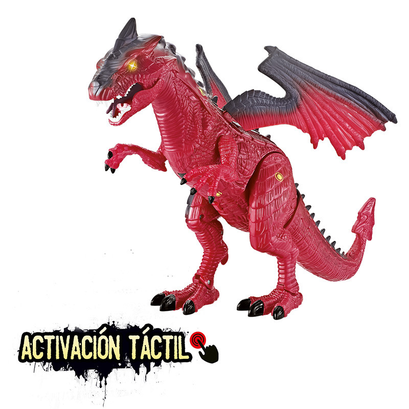 Wild dragons Dragón táctil