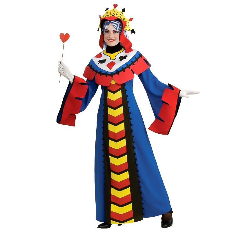 Disfraz Reina Poker Adulto