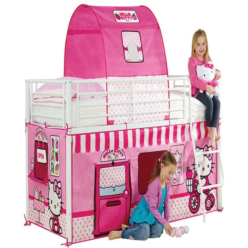 Hello Kitty casa de tela para camas