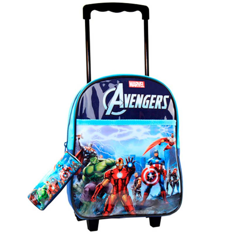 Mochila Trolley Avengers 43cm