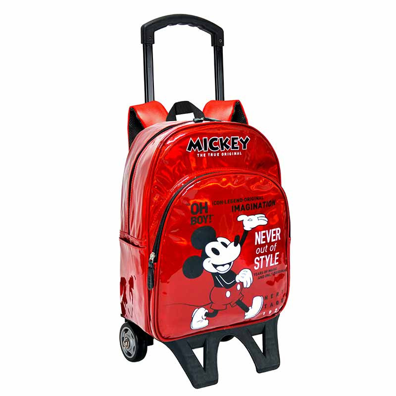 Mochila con trolley adaptable Mickey 42cm