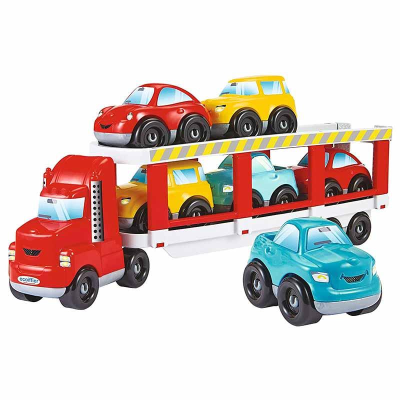 Abrick trailer con coches