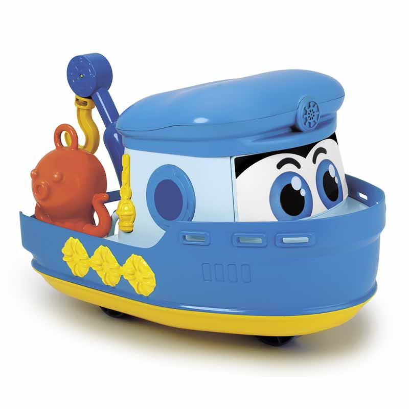 Barco con ruedas 25 cm