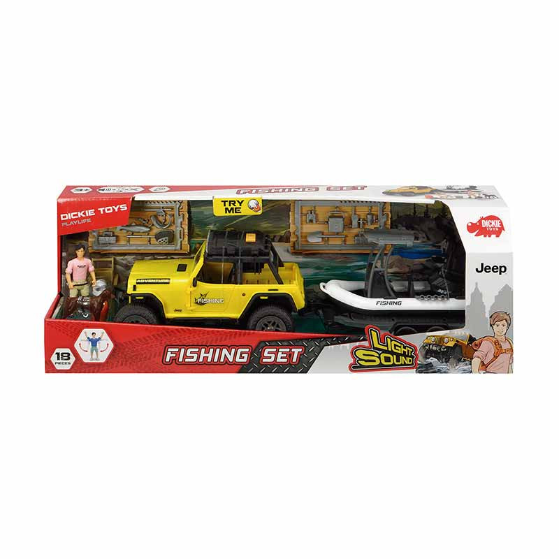 Set Pesca Jeep Comando XL