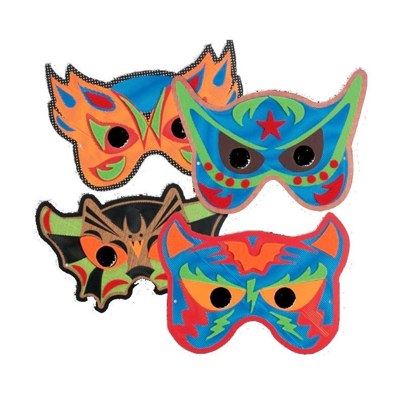Juego para coser tus máscaras Mask Heroes