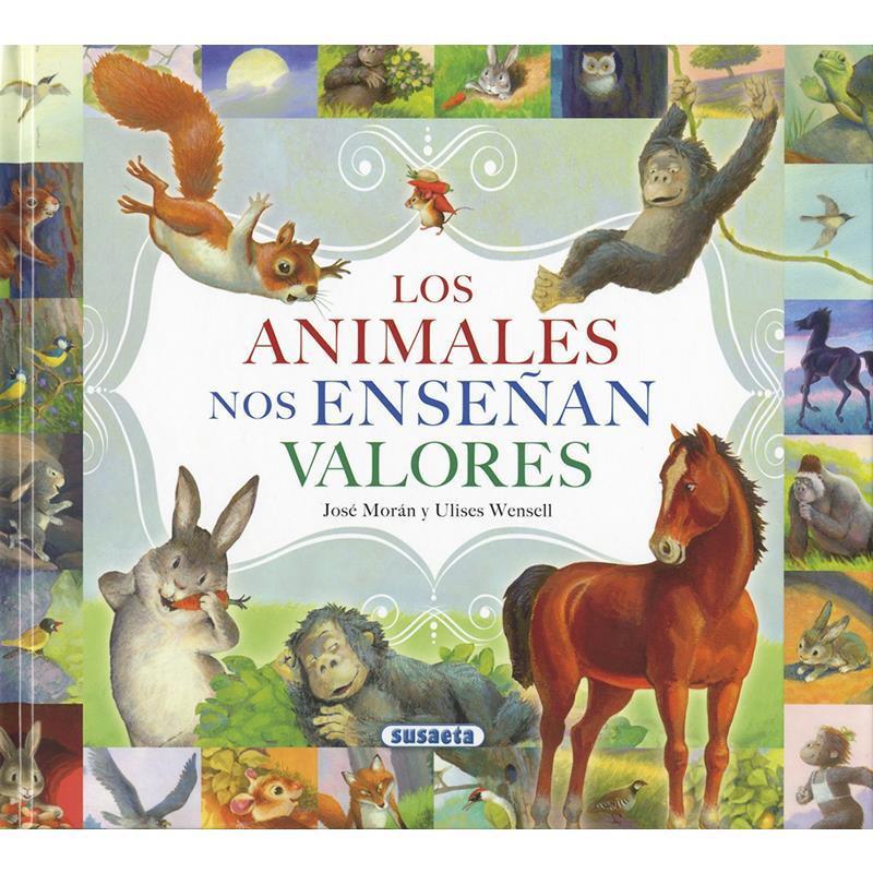 Libro Los animales nos enseñan valores
