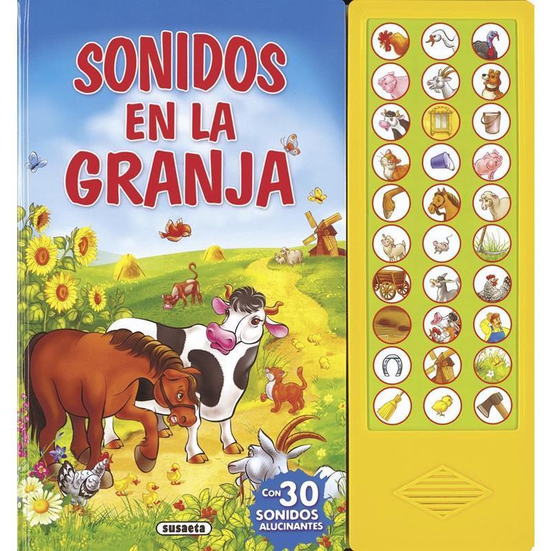 Libro sonidos en la granja