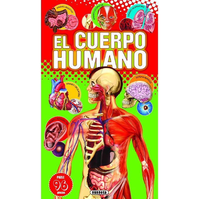 Libro El Cuerpo Humano (Libro Puzzle)