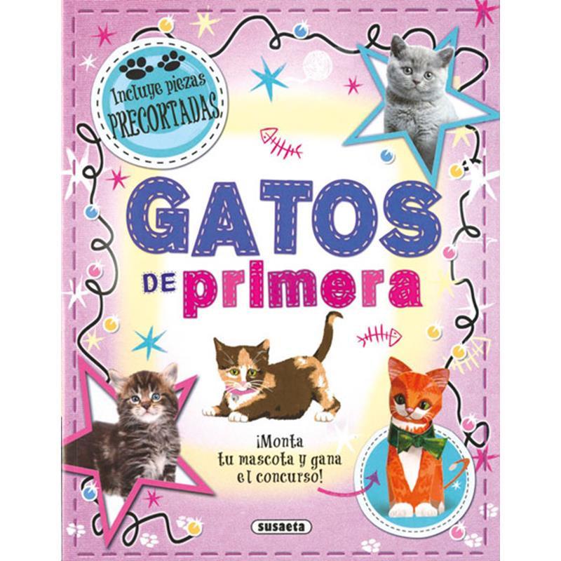 Libro gatos de primera (mascotas de