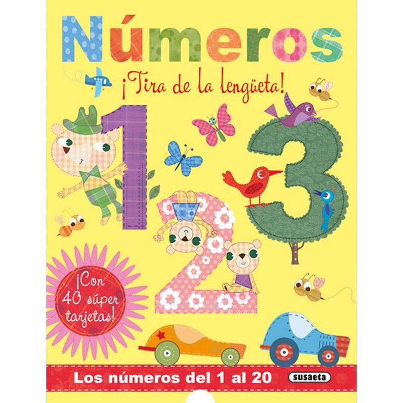 Libro números (tira de la lengüeta)