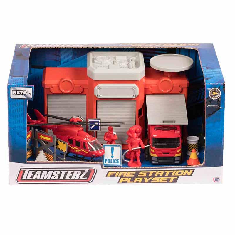 Set estación de bomberos Teamsterz