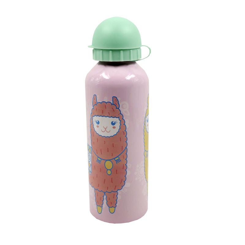 Botella Alumio 500ml Happy Llamas