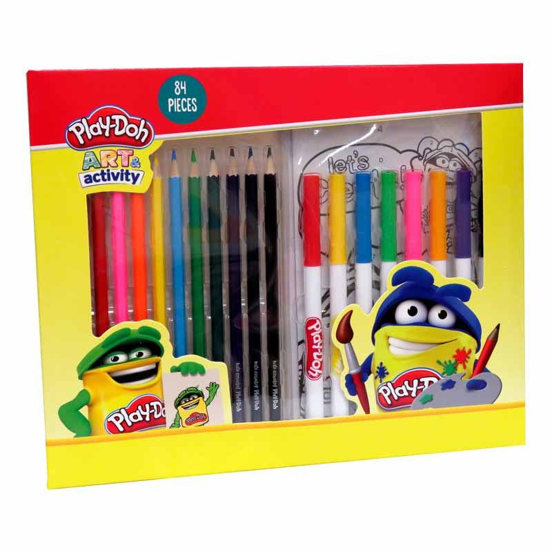 Play Doh set de dibujo 84 piezas en caja