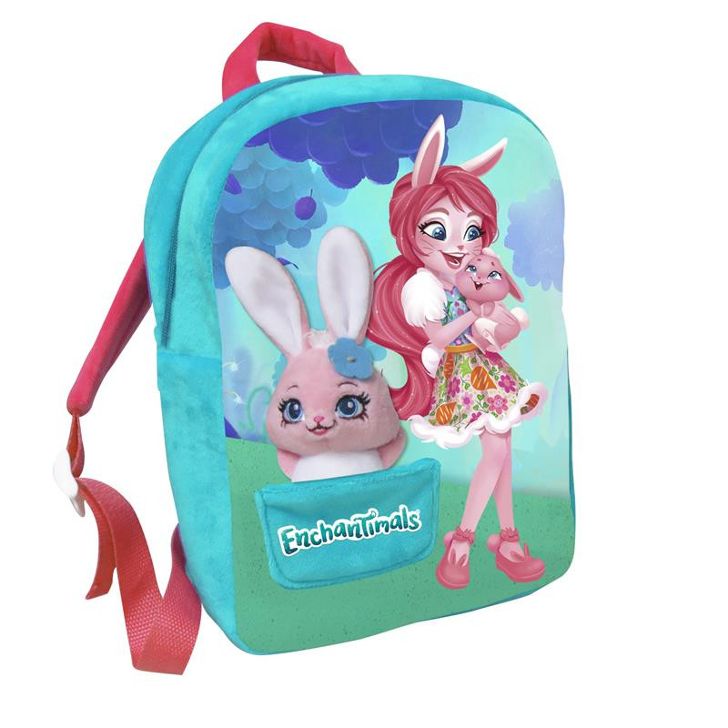 Mochila con peluche Enchantimals Bree Bunny
