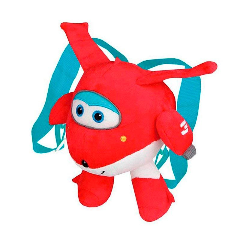 Super Wings mochila peluche Jett
