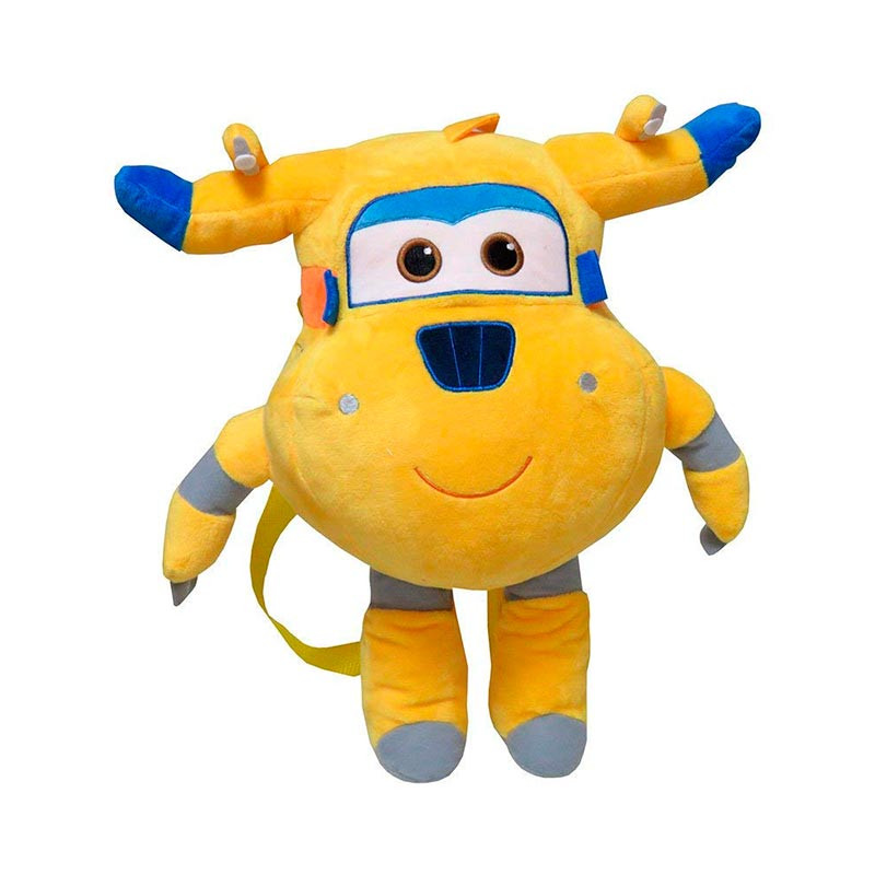 Super Wings mochila peluche Donnie