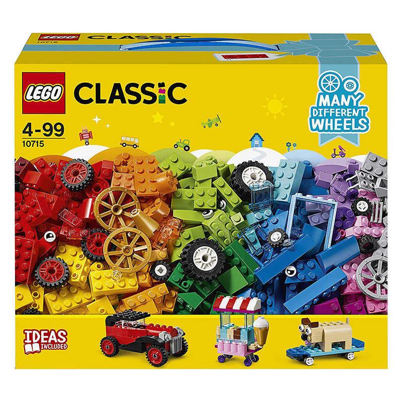LEGO Classic ladrillos sobre ruedas