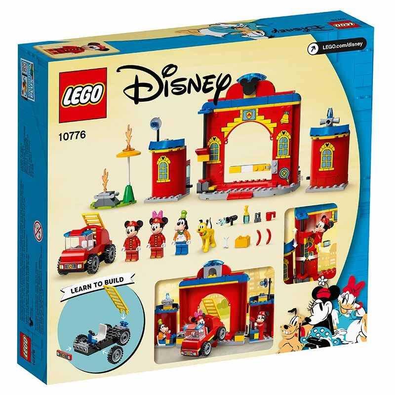 Lego Duplo Parque y Camión de Bomberos de Mickey