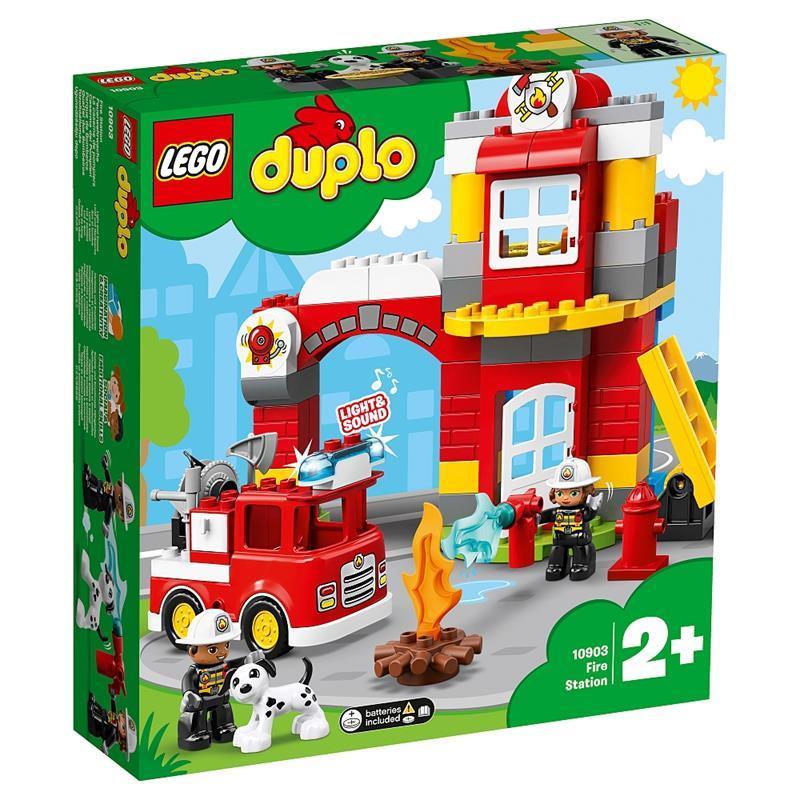 Lego Duplo parque de bomberos