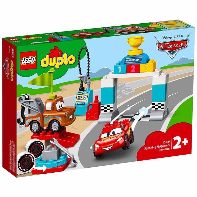 Lego Duplo Cars día de la carrera de Rayo McQueen