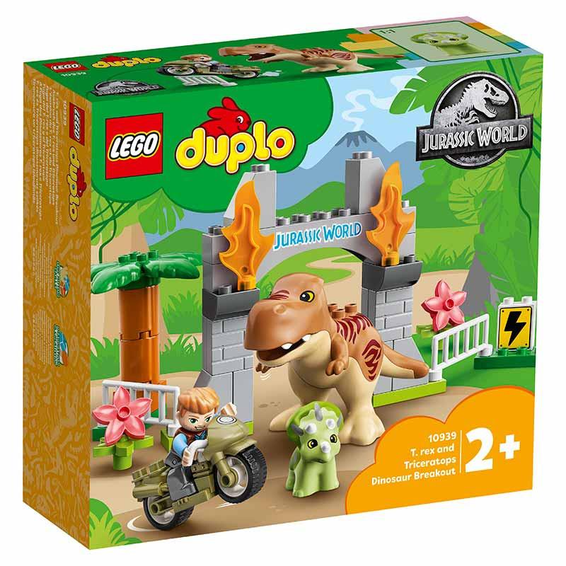 Lego Duplo Fuga del T. rex y el Triceratops